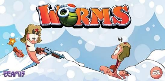 Классические червячки. Worms для смартфонов и планшетов