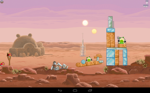 Angry Birds Star Wars screen SD