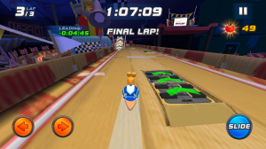 Turbo Racing League скриншот 1
