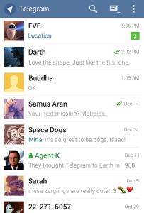 telegram андроид