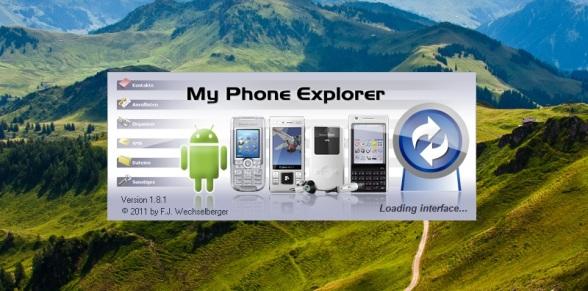 MyPhoneExplorer ОБЗОР
