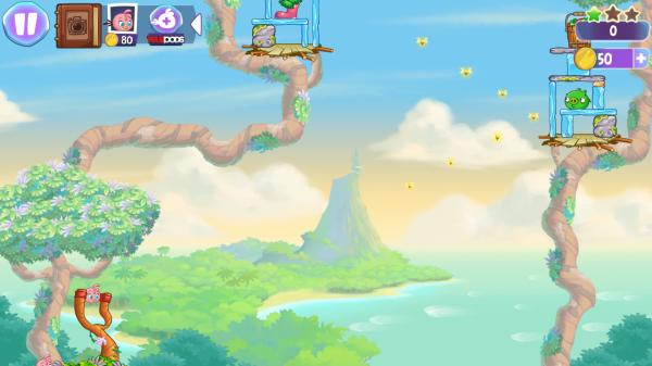 Angry Birds Stella обзор