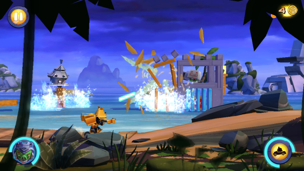 Angry Birds Transformers на antidroid.net