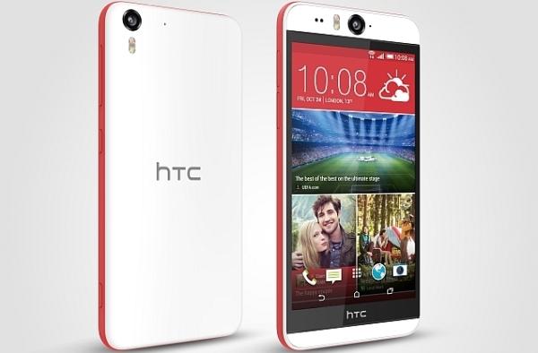 Внешний вид HTC Desire Eye