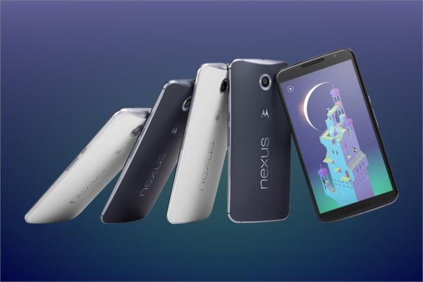 Внешний вид Nexus 6