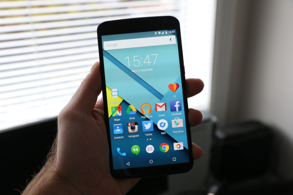 Nexus 6 экран