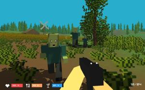 Pixel Z - Unturned day