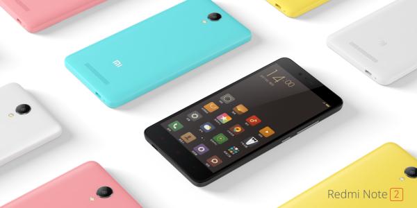 Внешний вид Xiaomi Redmi Note 2
