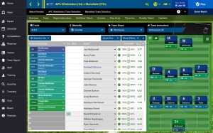 screenshot Football Manager Touch 2016 android