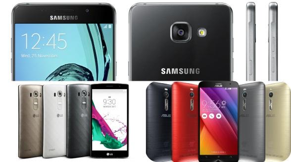 Тройка лучших Android смартфонов до 20000 рублей