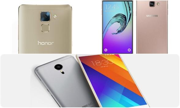 Топ 3 Android смартфона до 30000 рублей (Зима 2016)