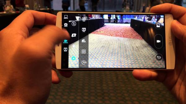 камера LG V10