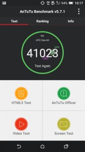 производительность HTC One A9