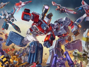 обои Transformers: Earth Wars
