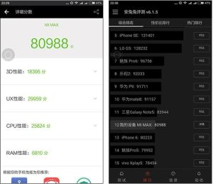 Xiaomi Mi Max Antutu Benchmark