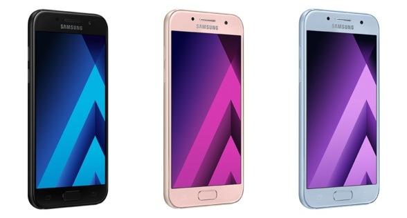 Galaxy A7 (2017), Galaxy A5 (2017) и Galaxy A3 (2017)