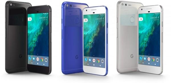 Внешний вид Google Pixel XL
