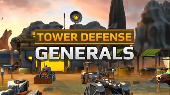 Tower Defense Generals для Android