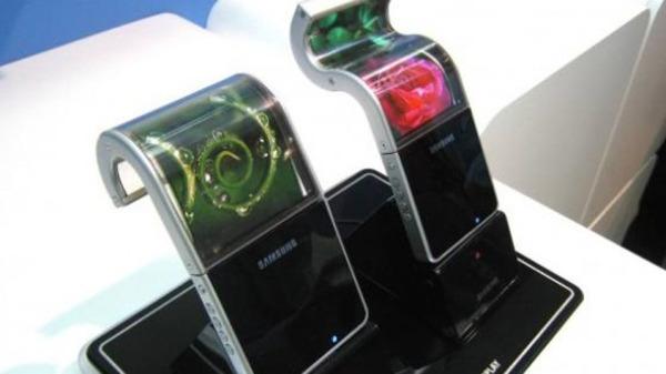 Гибкий смартфон самсунг