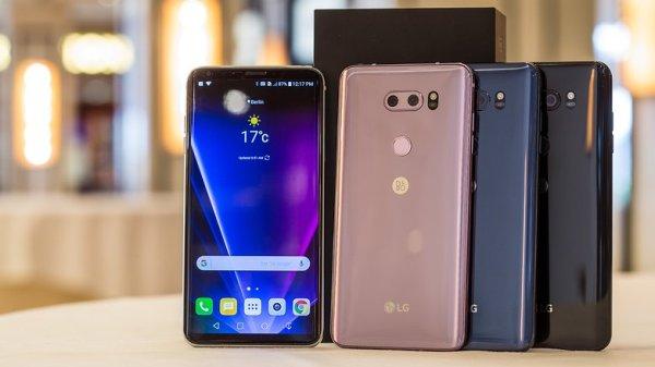 LG V30 цвета